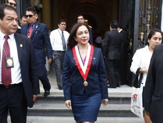 Encargan despacho presidencial a vicepresidenta Marisol Espinoza