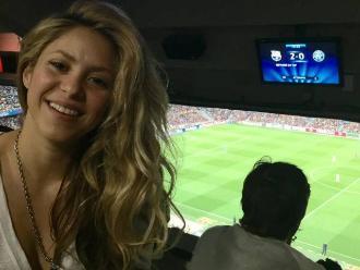 Barcelona vs. Juventus: Shakira celebró triunfo azulgrana en Twitter