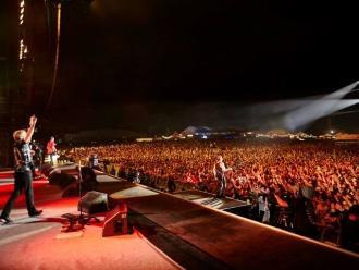 Alemania: tres rayos causan 33 heridos en festival Rock am Ring