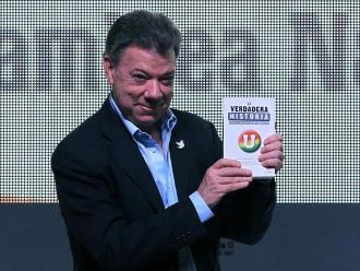 Colombia: Santos también destaca creación de Comisión de la Verdad