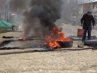 Huancayo: casi se incendia vivienda durante desalojo