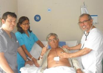 Chiclayo: médicos de EsSalud remodelan corazón a paciente con infarto