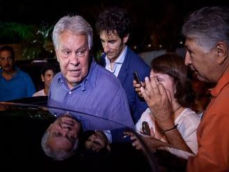 Felipe González visita a alcalde de Caracas, bajo detención domiciliaria