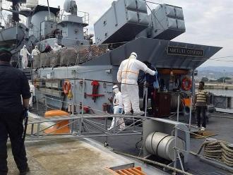 Guardacostas italianos rescataron a 3.480 inmigrantes en 15 operaciones