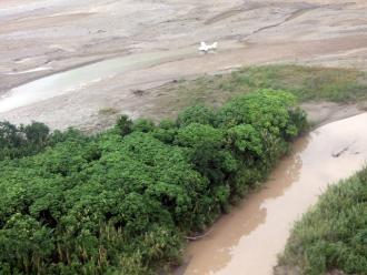 Vraem: destruyen a diario unas tres pistas de aterrizaje clandestinas