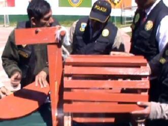 Cusco: hallan más de 6 kilos de droga dentro de juguete