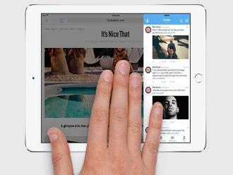 iOS 9 permitirá que el iPad pueda trabajar en dos ventanas al mismo tiempo