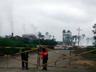 Chiclayo: se derrama ácido sulfúrico en empresa agroindustrial Pucalá