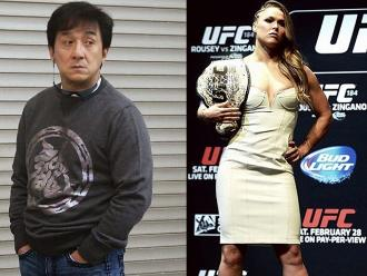UFC: Jackie Chan no sabe quién es Ronda Rousey