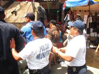 Huancayo: sujetos en estado de ebriedad agreden a policías municipales