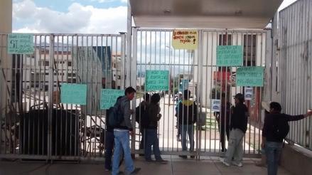 Cusco: estudiantes de la Universidad San Antonio Abad acatan huelga