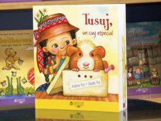 Lee Miércoles: Tusuj, un cuy especial, lo nuevo de las hermanas Paz