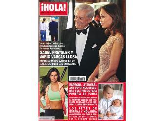 Mario Vargas Llosa e Isabel Preysler juntos en Madrid