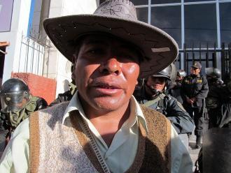 Puno: por desaire de alcalde amplían a 72 horas paro en Juliaca