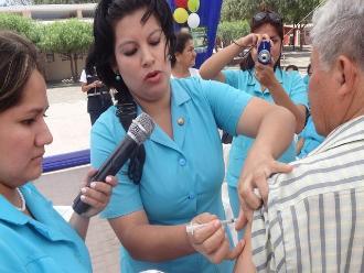 Chiclayo: dosis de vacunas contra influenza están garantizadas