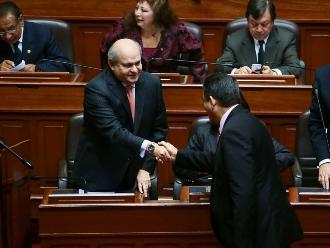 Pedro Cateriano: Congreso está obligado a escuchar propuestas del Gobierno