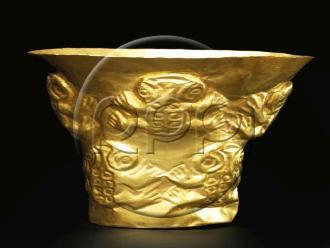Chiclayo: subastan ocho piezas de oro de la cultura Sicán en EEUU