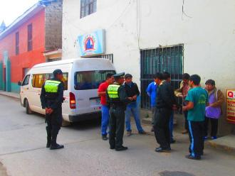 Andahuaylas: capturan a cinco sujetos integrantes de banda delincuencial