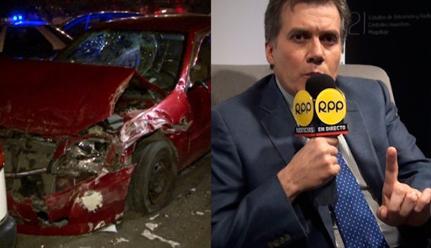 Muere más gente por accidentes de tránsito que por hechos de violencia