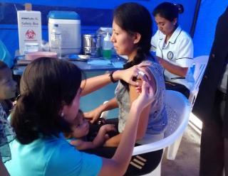 Inmunizan a más de 60 mil lambayecanos contra la influenza