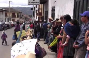 Cajamarca: Plan Manzanas y La Ramada reclaman contra Yanacocha