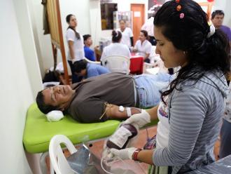 Se realizará campaña de donación de sangre en Iquitos