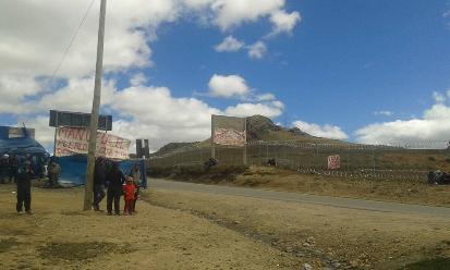 La Libertad: varios heridos dejó enfrentamiento entre PNP y mineros