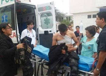 La Libertad: dos policías heridos de gravedad por gresca con mineros