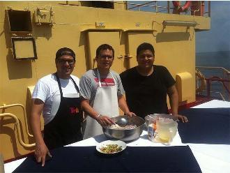 Chefs peruanos se suman a investigación del  Humboldt