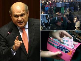 Resumen: Pedro Cateriano no cerrará el Congreso, empresarios vinculados a Belaunde fueron recluidos en Ancón I y ministro de Trabajo asegura que gratificaciones de 2015 no tendrán descuentos