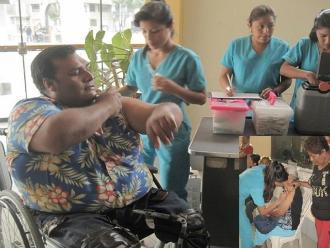 Lambayeque: personas con discapacidad y adultos mayores fueron vacunados