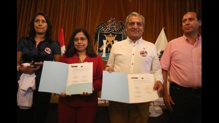 Suscriben acta para erradicar trabajo infantil en Trujillo