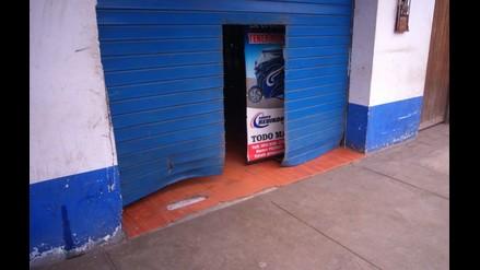 Huaral: extorsionadores detonan explosivos en tienda de empresario