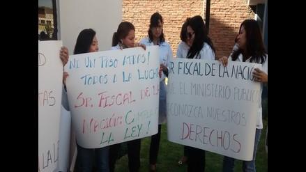 Trabajadores de Medicina Legal de Arequipa acatan paro nacional
