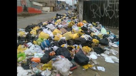 VMT: montículos de basura perjudican a los vecinos de Nueva Esperanza