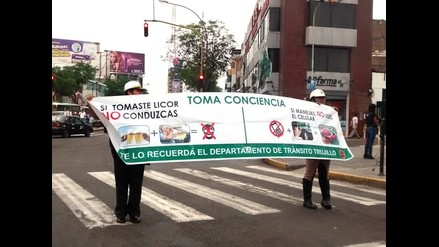 Trujillo: Policía inicia campaña para evitar muertes en pistas