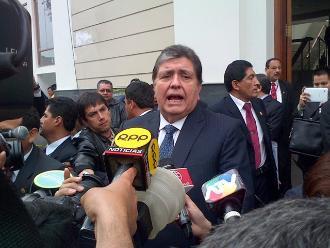 Caso petroaudios: Sala cita a Alan García para el martes 23 de junio