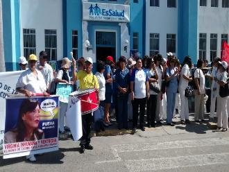 Piura: EsSalud realizó pago a médicos de la unidad de dengue y chikungunya