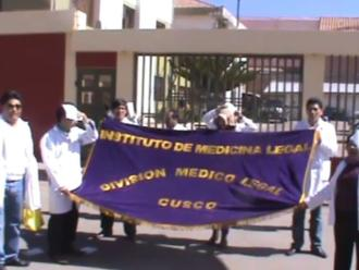 Cusco: médicos legistas realizan paro nacional de 48 horas