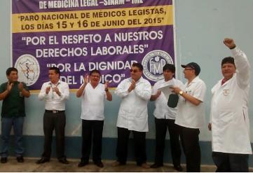 Chiclayo: más de 100 atenciones suspendidas por paro de médicos legistas