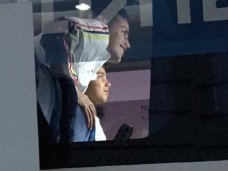 Copa América: James Rodríguez y el emotivo gesto con un niño