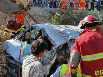 Huacho: ciudadano canadiense resultó herido tras despiste de su vehículo
