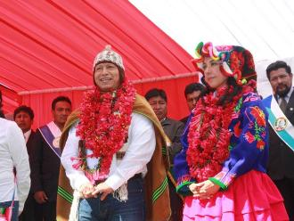 Puno: reclaman promesas electorales incumplidas a Nadine Heredia en Ácora