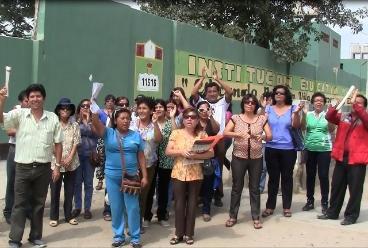 Chiclayo: docentes se comprometen en reiniciar clases el próximo lunes