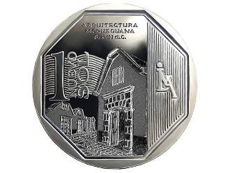 Conoce la nueva moneda de un sol alusiva a la Arquitectura Moqueguana