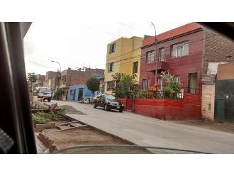 WhatsApp: vivienda ocupa vereda en SMP