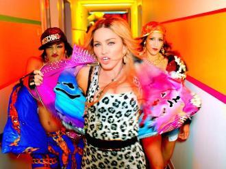 Madonna: Revelan imágenes de videoclip con Nicki Minaj y Beyoncé