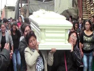 Huaral: sepultan restos de comerciante que fue hallado muerto en carretera