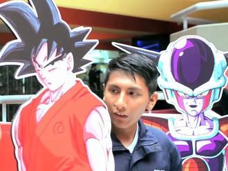 Dragon Ball Z: Así fue la activación de película en Lima