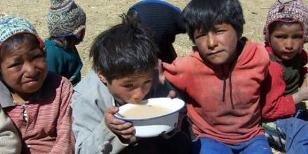 Desnutrición en Arequipa alcanza el 6,6%